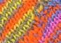Cheerful Poncho – violett-bunt